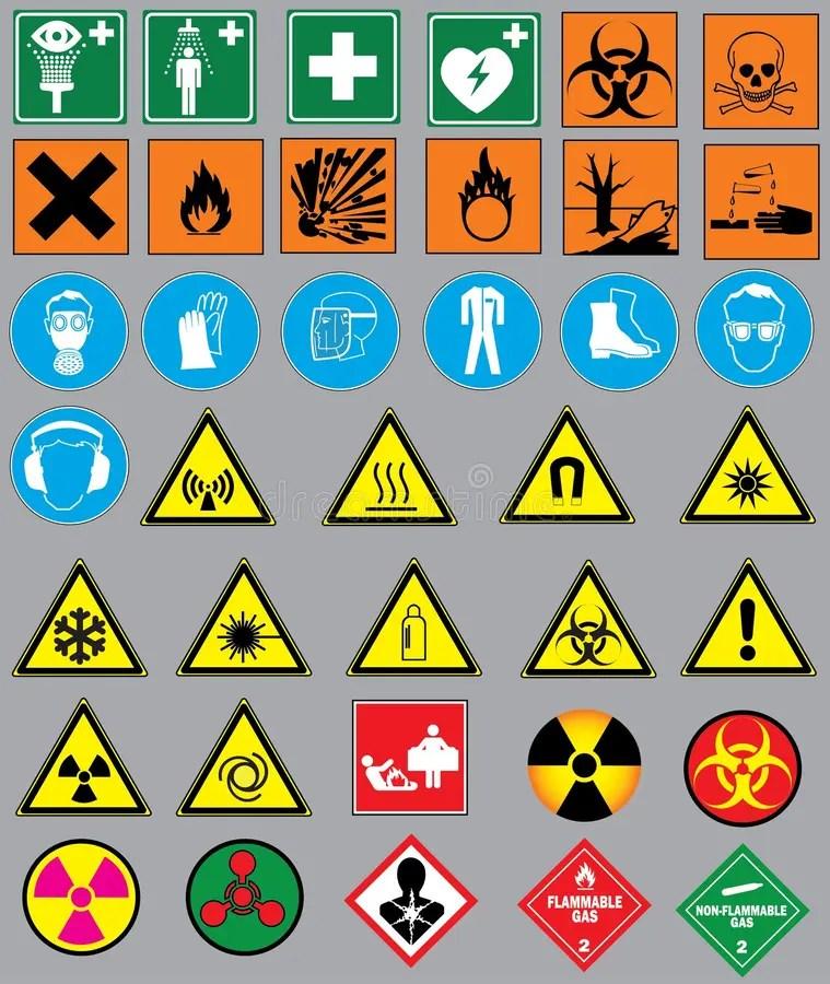Chemistry simbols stock vector Illustration of corrosive - 43718204 - chemistry safety