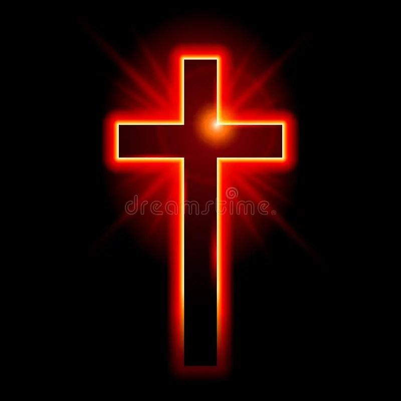 Jesus Christ 3d Wallpaper Christelijk Symbool Van Het Kruisbeeld Vector Illustratie