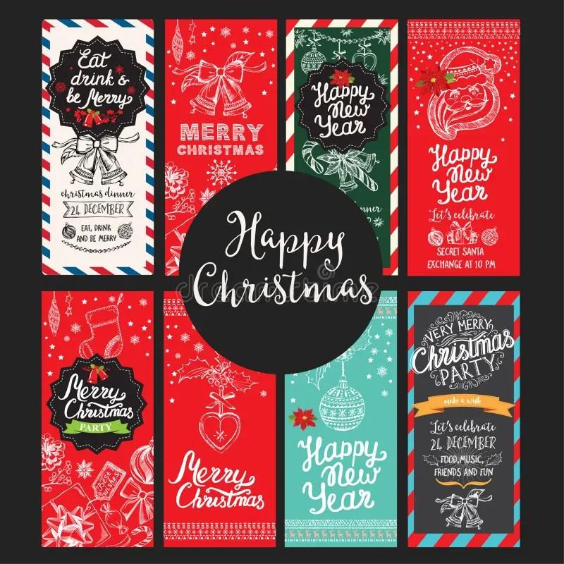 Christmas Party Invitation, Food Menu Restaurant Stock Vector - christmas luncheon flyer