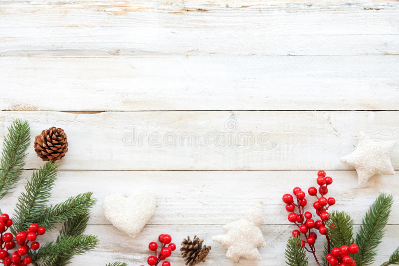 Christmas Theme Background With Decorating Elements And Ornament - christmas theme background