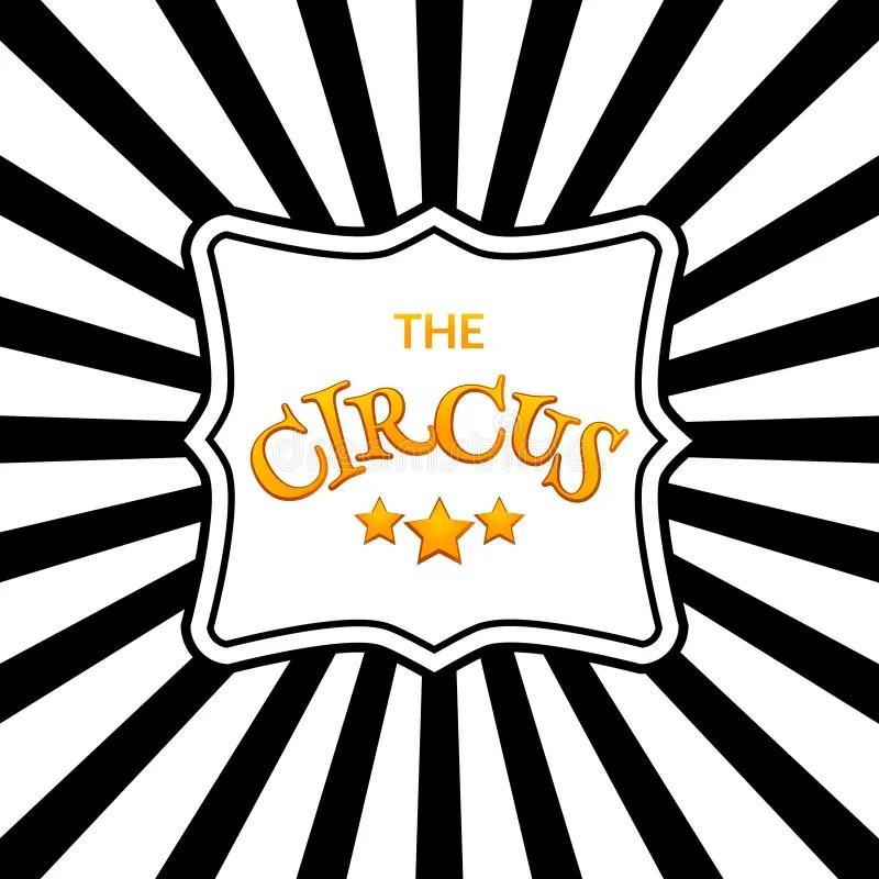 Classic Circus Poster Design Template Circus Background Design