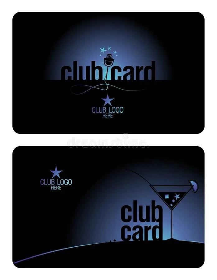 Club card design template stock vector Illustration of member - club card design