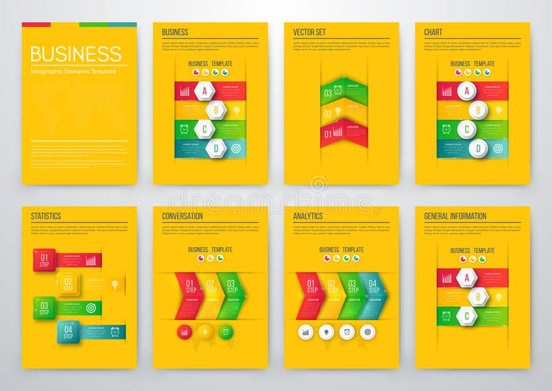 Color Elements For Infographics Stock Vector - Illustration of point - general color chart template