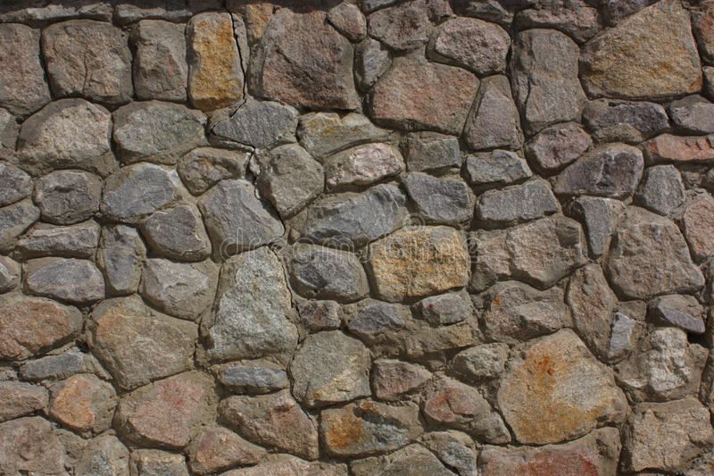 Color Texture From Stone Masonry Stock Image - Image of abstract