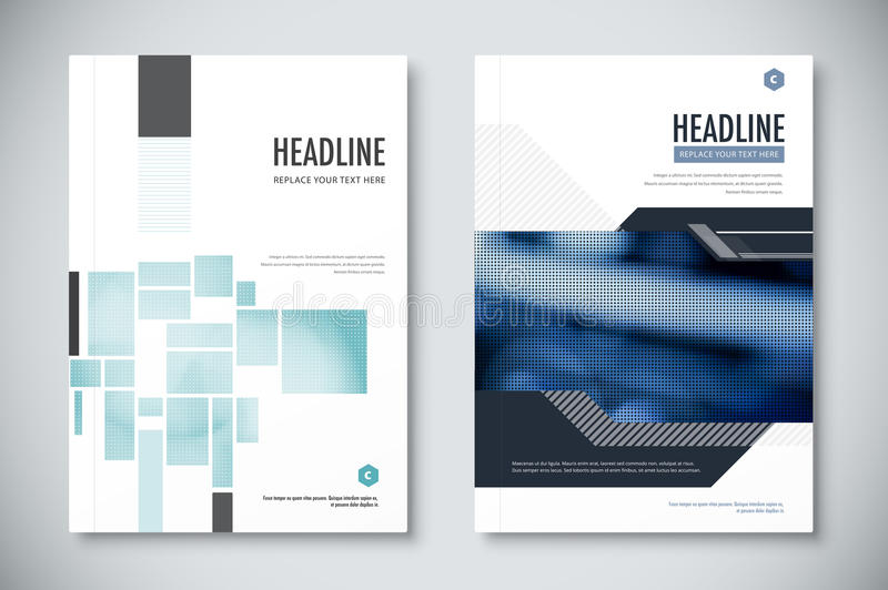 Corporate Annual Report Template Design Corporate Business Document - annual report template design