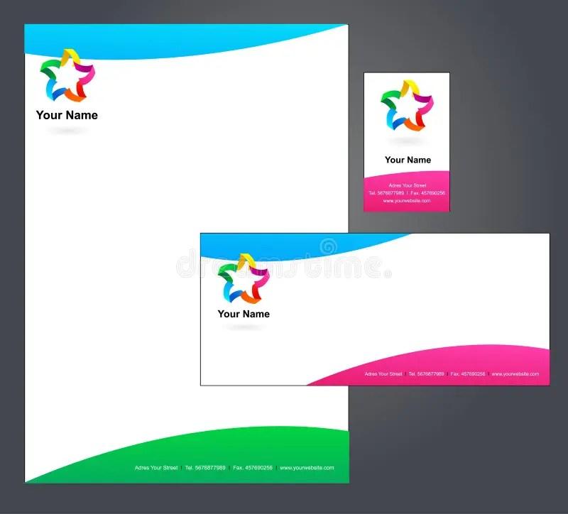Corporate Letterhead Template - Stock Vector - Image 13097855 - corporate letterhead template