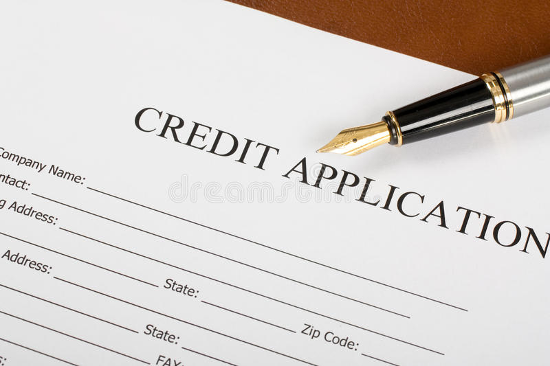 application for credit - Maggilocustdesign