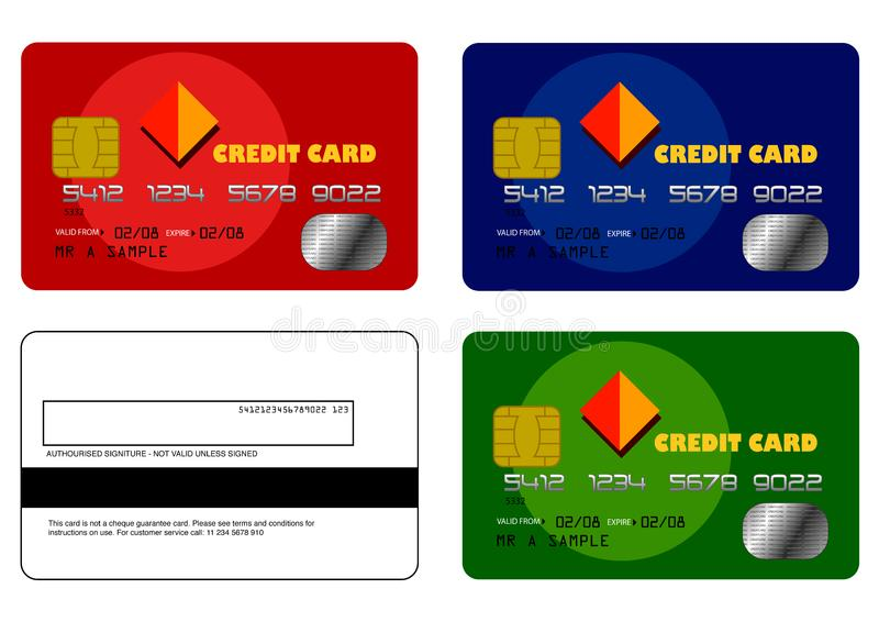 Credit Card Samples Set 1 Picture Image 6135212