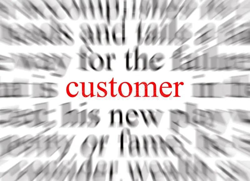 Customer Focused stock illustration Illustration of abstract - 1135236