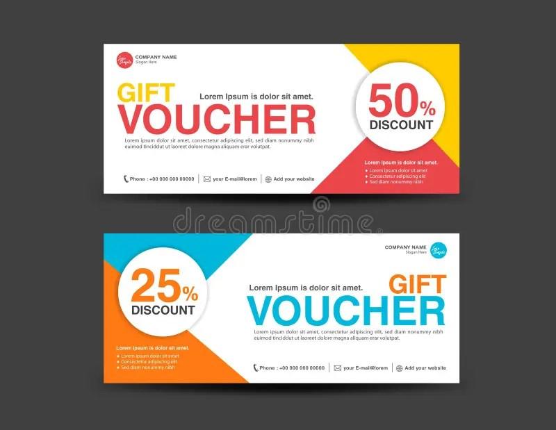 Discount Voucher Template, Coupon Design,ticket, Banner Template