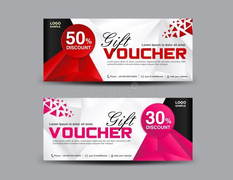 Discount Voucher Template, Coupon Design,ticket, Banner Template - discount voucher design