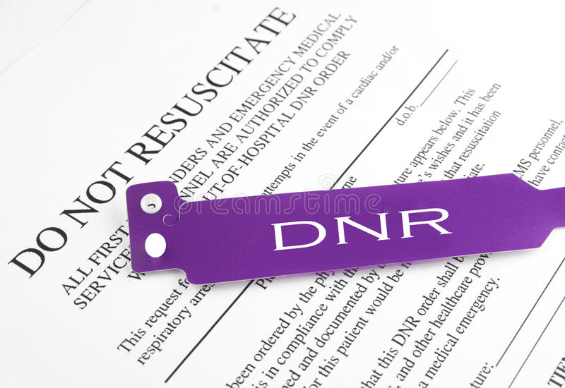 Do Not Resuscitate Form stock image Image of supplies - 55571385 - dnr medical form