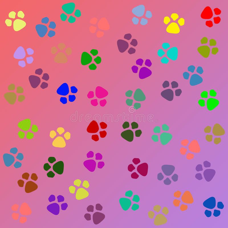 Cute Paw Print Wallpaper Dog Paw Texture Royalty Free Stock Image Image 38744156