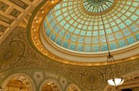 Dome Ceiling stock image. Image of beauty, illinois ...