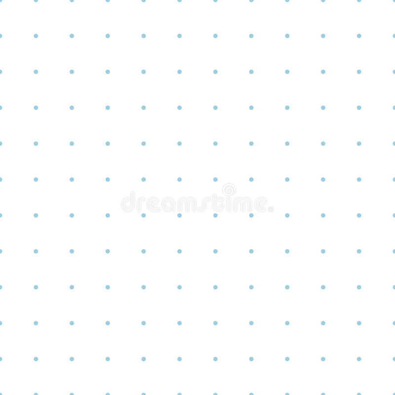Dotted Grid Graph Paper Seamless Pattern Stock Vector - Illustration - printable dot grid paper
