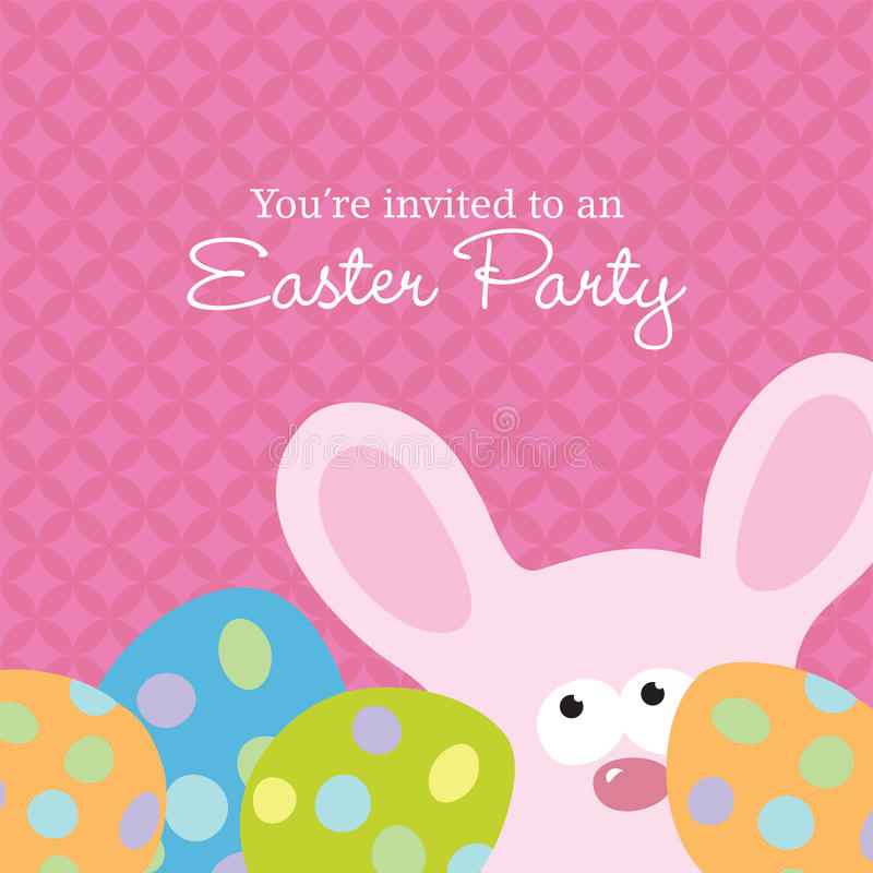 Easter Invite Template stock vector Illustration of animal - 10325266 - easter invitations template