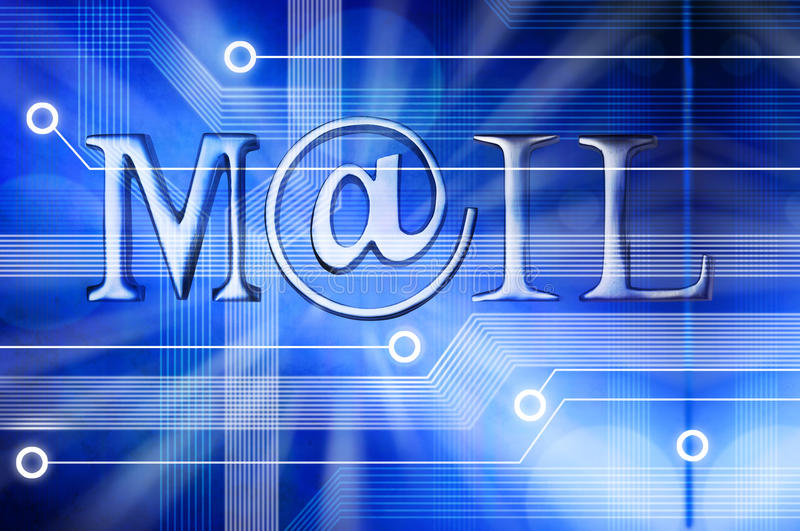 Email Mail Background stock illustration Illustration of electronic - mail background