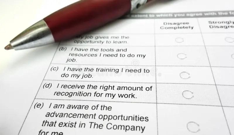 Employee survey stock image Image of satisfaction, retention - 40999857 - employee survey