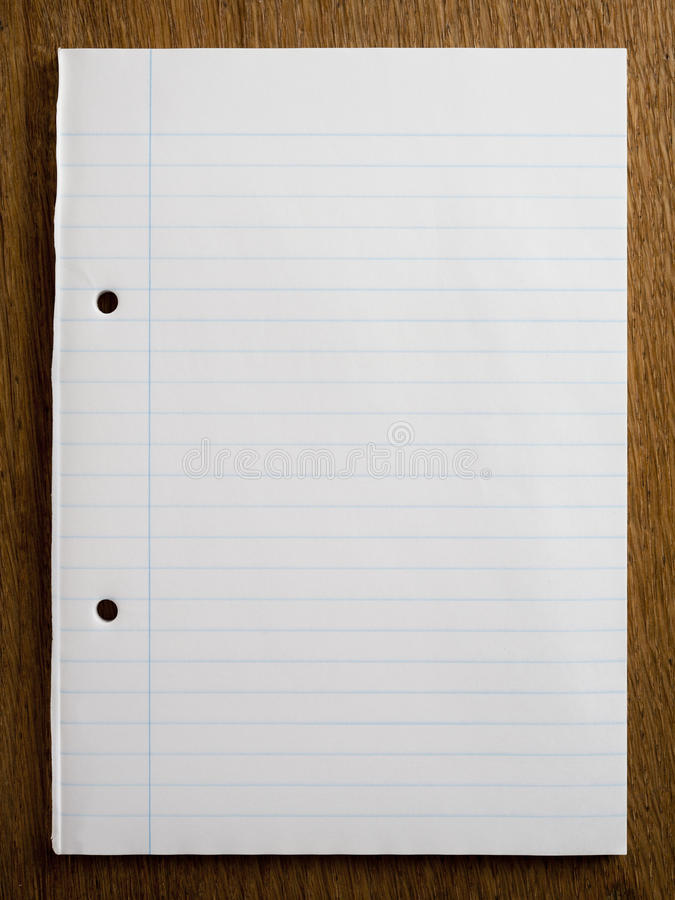 Empty Lined Paper stock photo Image of message, drawing - 31575402 - blank lined page