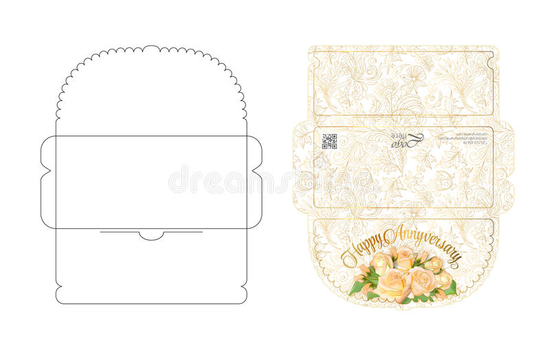 Envelope Template With Flap Design Easy To Fold Ready To Print - money envelope template