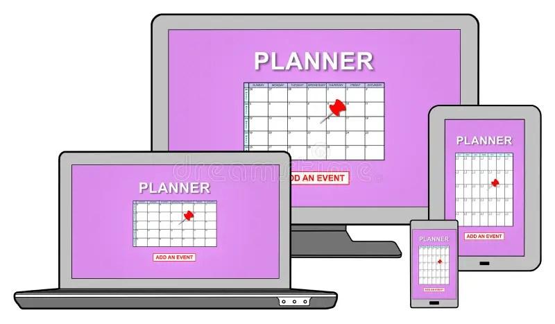 Evento Que Añade En Concepto Del Planificador En Diversos