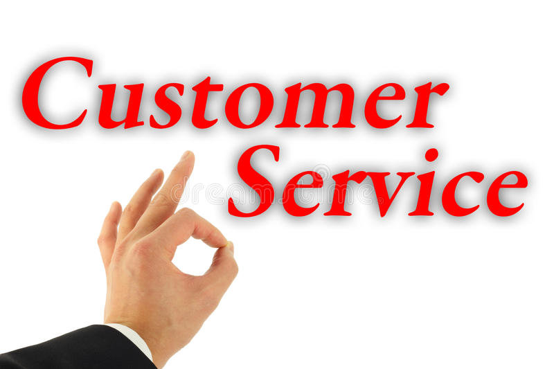 Excellent Customer Service Concept Stock Image - Image of okay