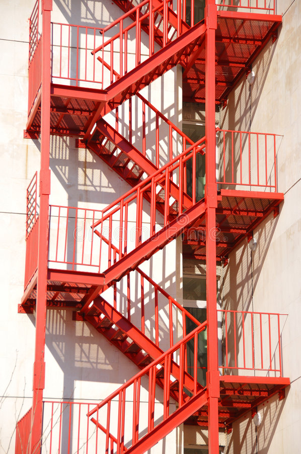 Fire Stair Royalty Free Stock Photo Image 8792045