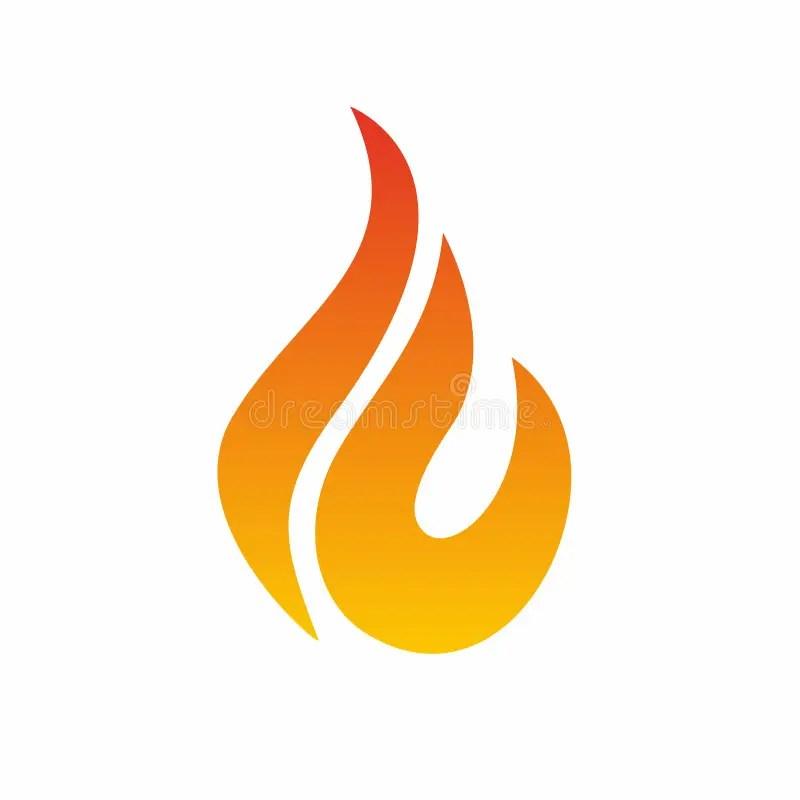 Flame Logo, Fire Icon Fire Flame Logo Design Template Stock Vector - flame logo