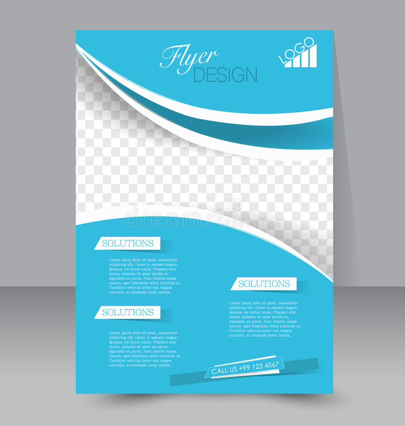 Azure Flyer Template | Two Page Brochure Template Radiovkm Tk