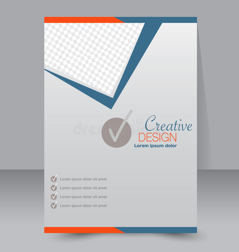 Flyer Template Business Brochure Editable A4 Poster Stock Vector