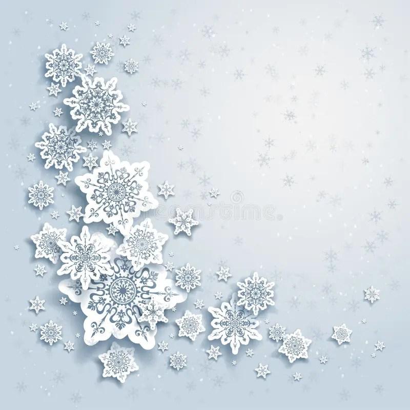 Christmas Falling Snow Wallpaper Note 3 Fond D Hiver Avec Des Flocons De Neige Illustration De