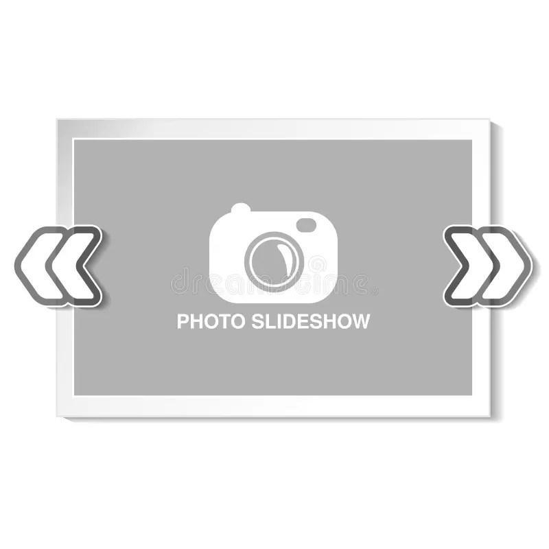 Frame For Website Slideshow, Presentation Or Series Of Projected