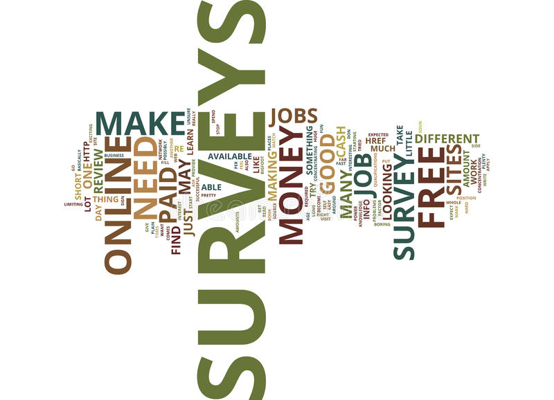 Free Online Survey Jobs Are They Like The Bigfoot Word Cloud Concept - make a survey in word