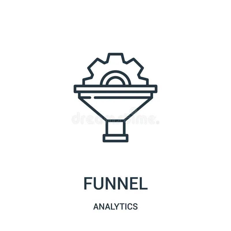 funnel diagram icon