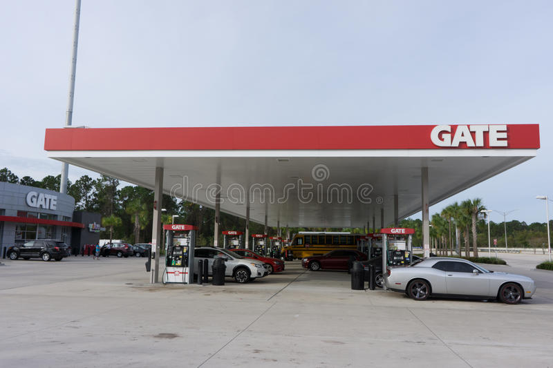 Gate Gas Station editorial photo Image of premium, energy - 79646166