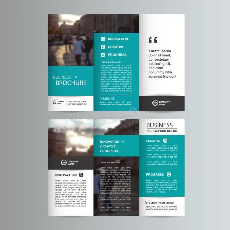 Tri fold business brochure cvfreeo geometric trifold business brochure template stock vector friedricerecipe Gallery