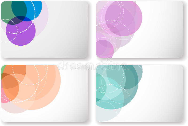 Gift card templates stock vector Illustration of circle - 18402102 - gift card templates