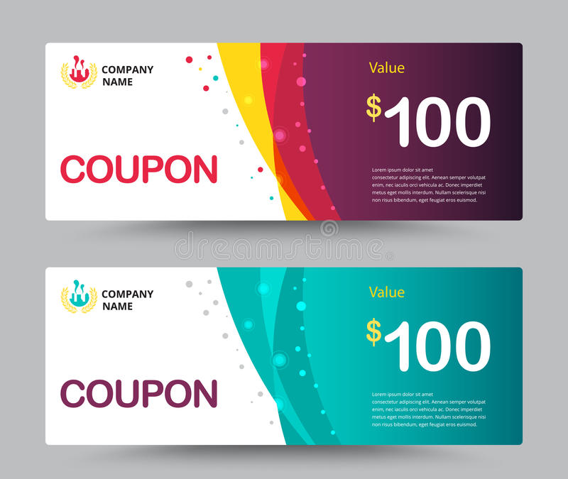 Gift Voucher Coupon Template Design For Special Time, Coupon Temp - cupon template