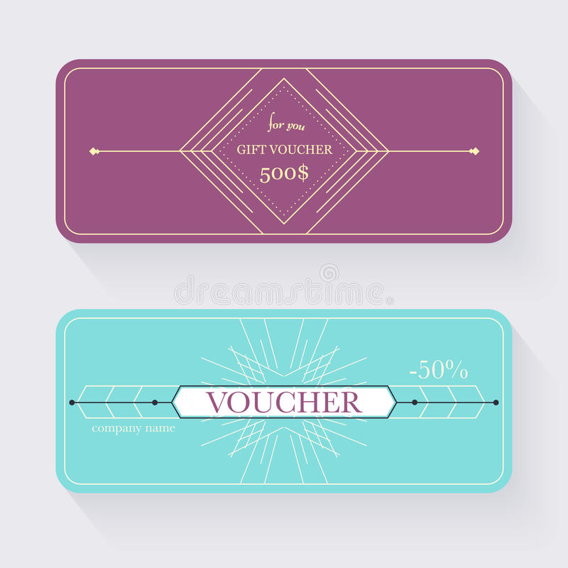 Gift Voucher Template Gift Certificate Background Design Gift - gift voucher template