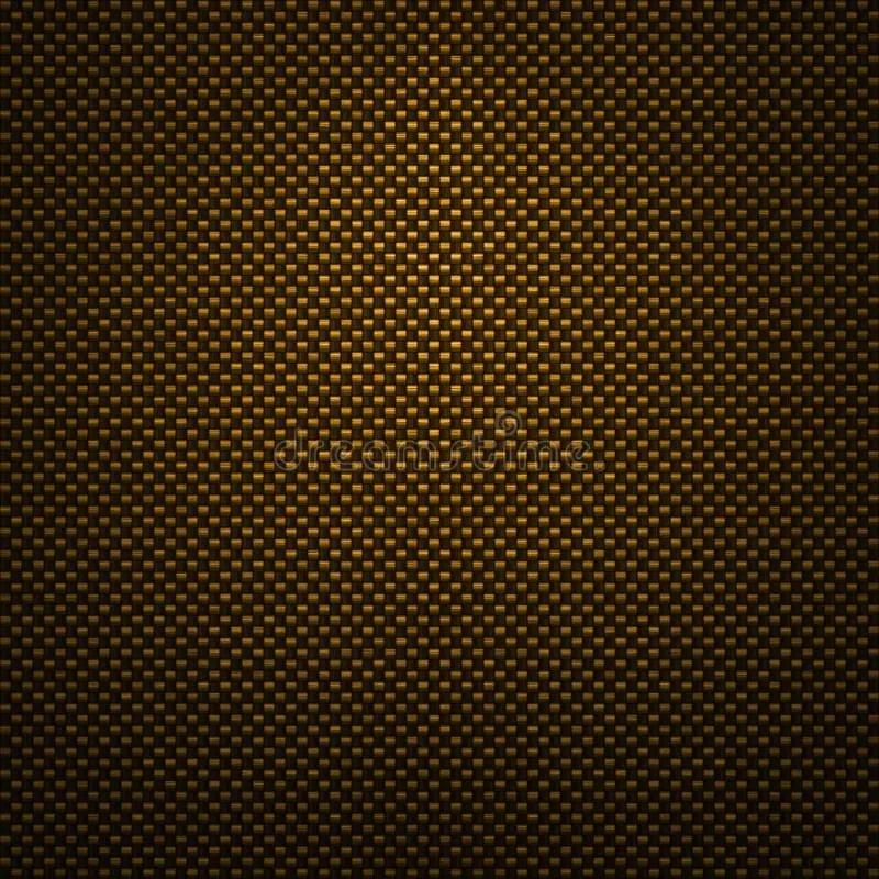 Carbon Wallpaper Iphone X Gold Carbon Fiber Background Stock Illustration