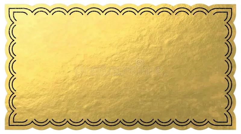 Golden Ticket stock illustration Illustration of glossy - 53446101