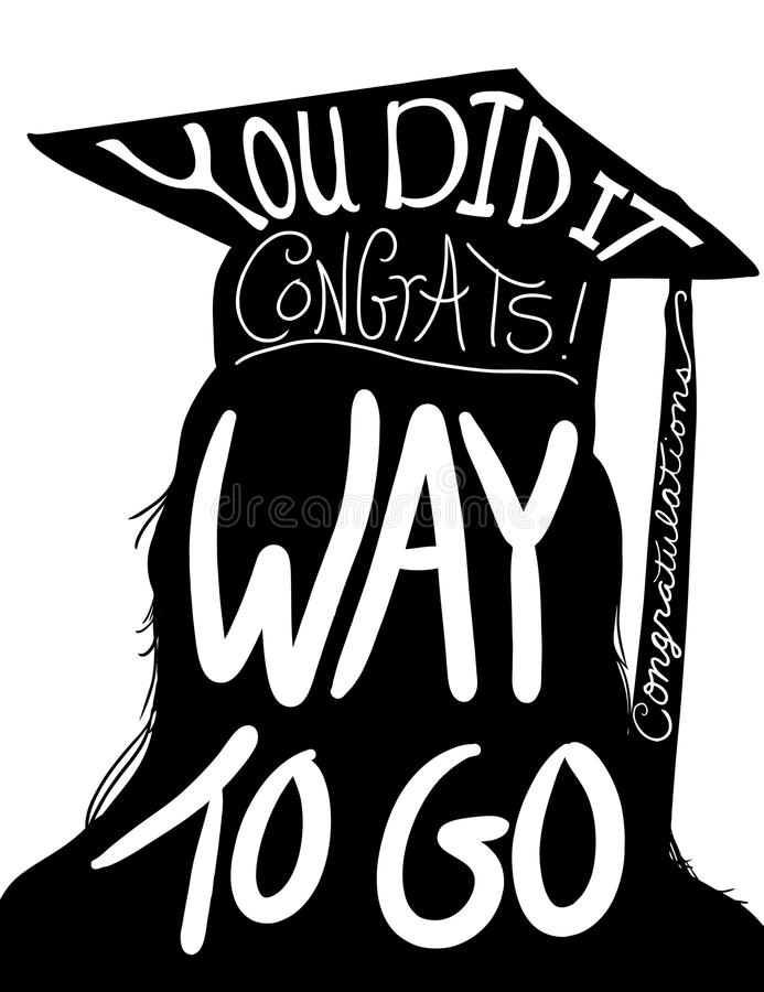 Graduation Design Image, Congratulations To Graduate With Cap And