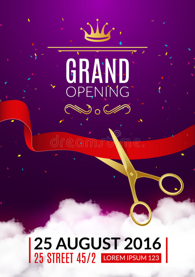 Grand Opening Invitation Card Grand Opening Event Invitation Flyer - invitation card event