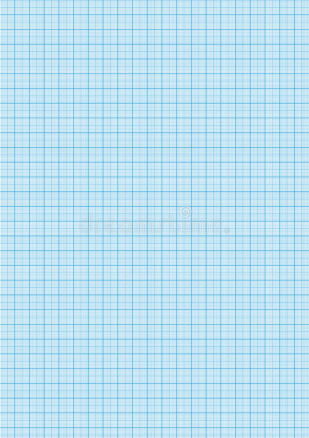 Graph Paper Cyan Color On A4 Sheet Size Stock Illustration - graph sheet download