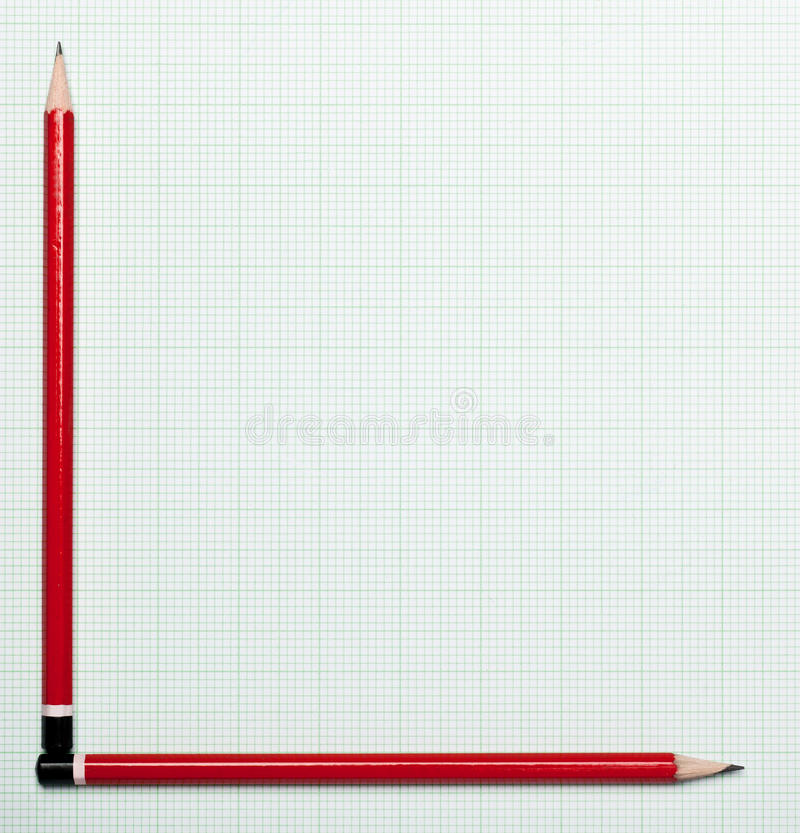 Graph Paper With Pencil Axis Stock Image - Image of grid, trend - graph paper with axis