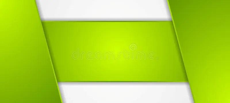Green Tech Corporate Banner Design Stock Vector - Illustration of