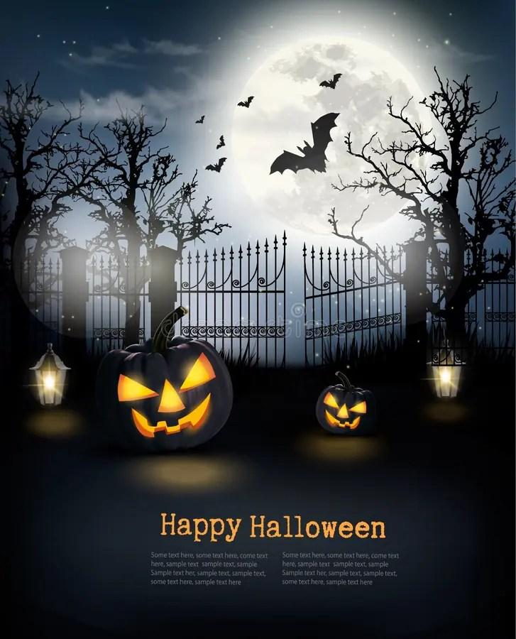 Halloween Spooky Background Stock Photo - Image of dark, fall 78380668