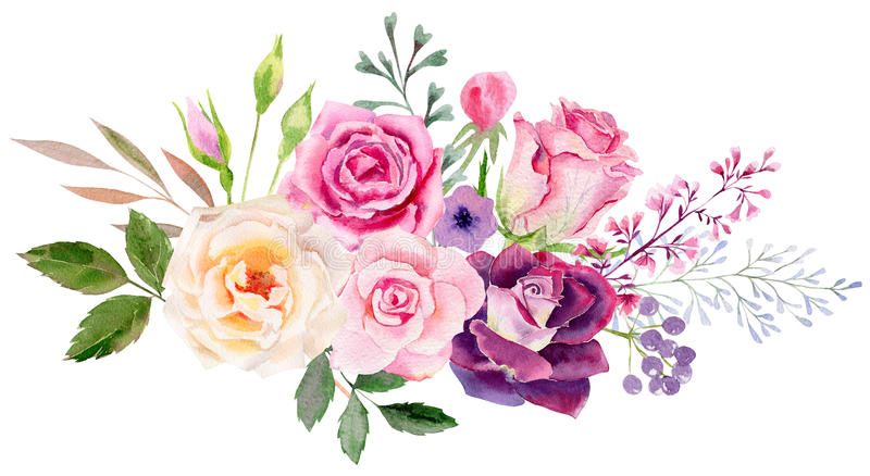 Peonies Wallpaper Iphone 6 Hand Painted Watercolor Mockup Clipart Template Of Roses