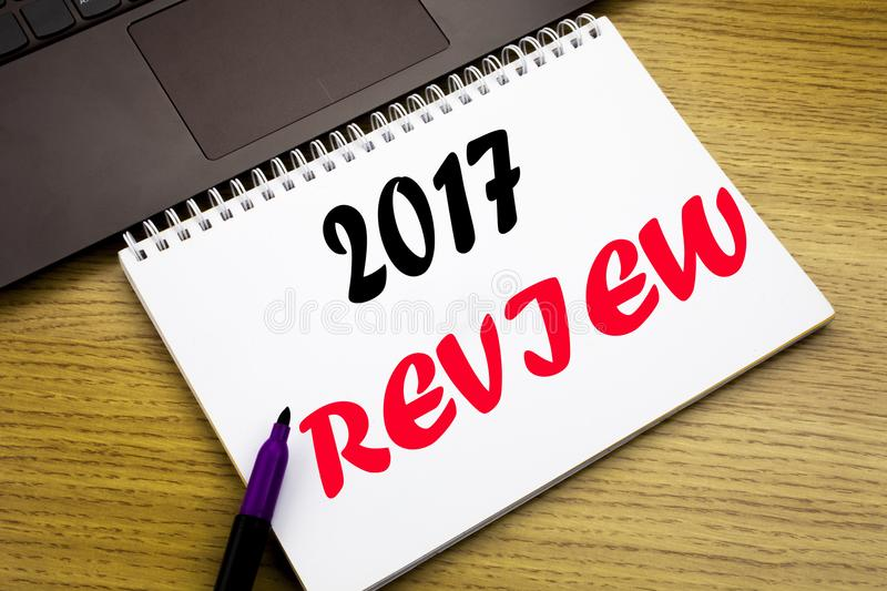 Hand Writing Text Caption Inspiration Showing 2017 Review Business - financial analysis report writing