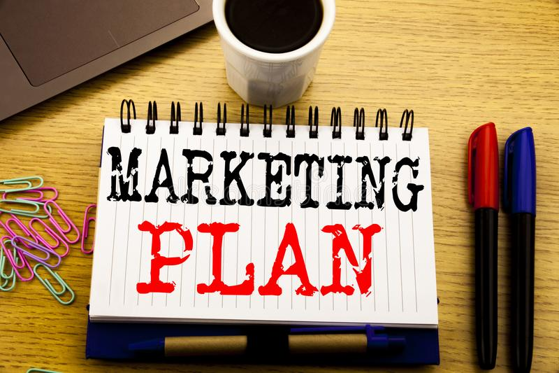 Hand Writing Text Caption Showing Marketing Plan Business Concept - writing business marketing plan